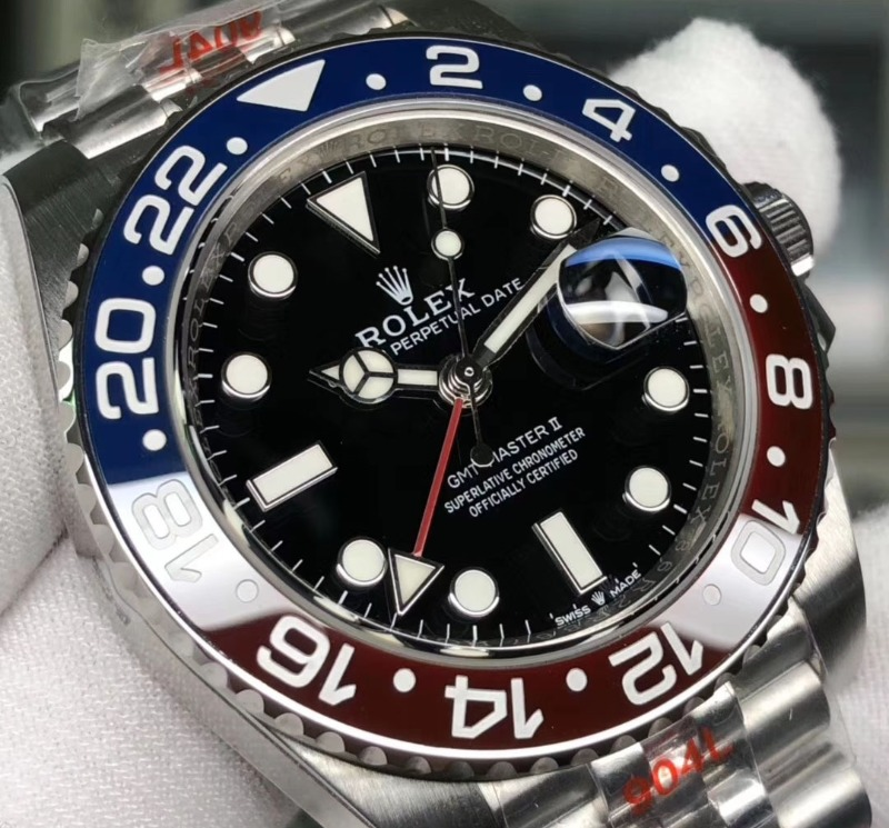 gmt-master-ii-126710-blro-real-ceramic-904l-ss-bracelet-a3285-noob-best-edition